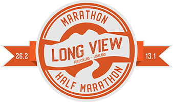 Long View Marathon and Half Marathon logo
